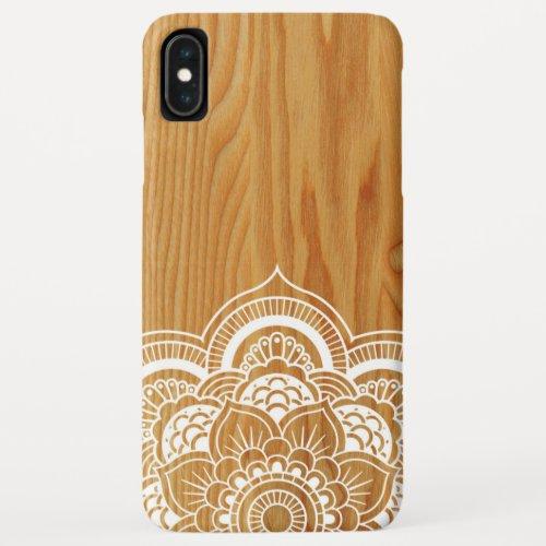 Wood and Mandala Phone Case