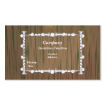Wood and Nails - Business Business Card Templates