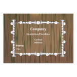 Wood and Nails - Chubby Business Cards