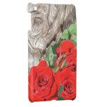 Wood and Roses iPad Mini Covers