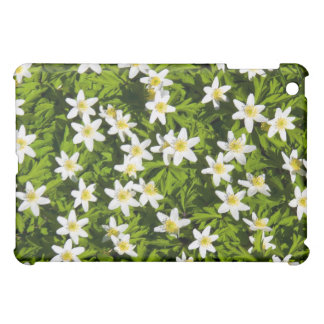 wood anemone field in spring iPad mini cases