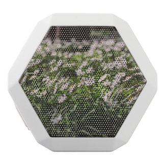 Wood Anemone Flowers Meadow in The Woods White Bluetooth Speaker