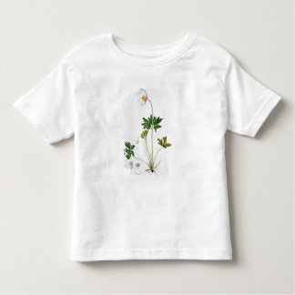 Wood Anemone from 'Phytographie Medicale' by Josep Toddler T-shirt