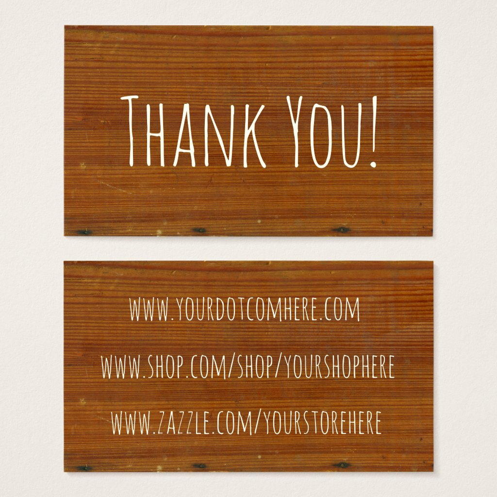Wood, Antique Grain Textured Wooden Inspired Business Card