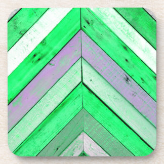 Wood background beverage coaster