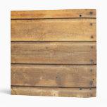 Wood background binder