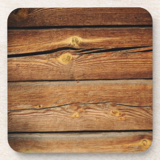 Wood Background Coaster