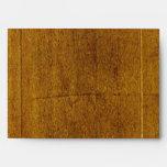 Wood Background Envelope
