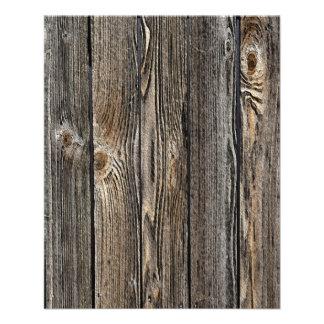 Wood Background Flyer