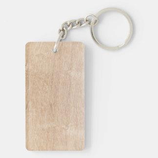 Wood background keychain