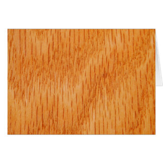 Wood Background - Smooth Bamboo Grain Customized Card