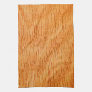 Wood Background - Smooth Bamboo Grain Customized Hand Towel