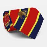 Wood Badge Buffalo Striped Dress Tie