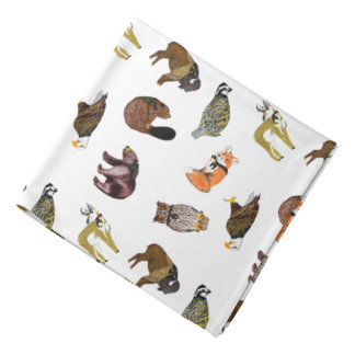 Wood Badge Critter Scarf Bandana