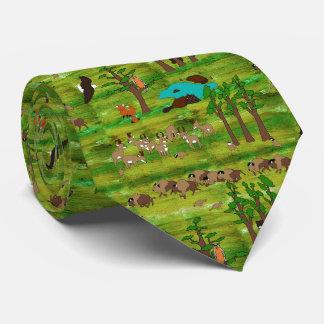 Wood Badge Scenery Tie
