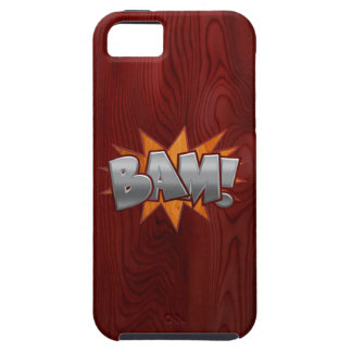 Wood Bam iPhone 5 Covers