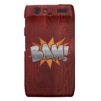 Wood Bam Droid RAZR Case