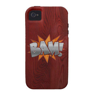 Wood Bam iPhone 4/4S Covers