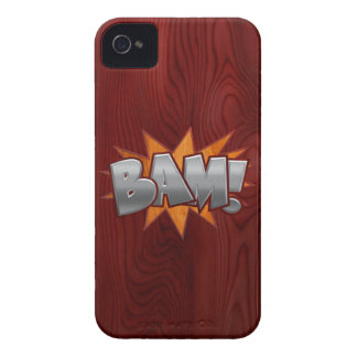 Wood Bam iPhone 4 Case-Mate Cases