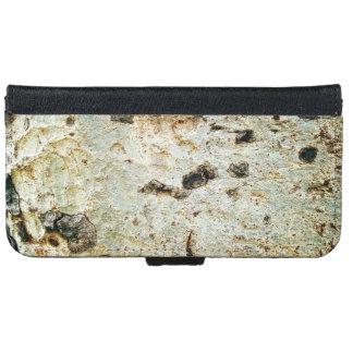 Wood Bark Texture iPhone 6 Wallet Case