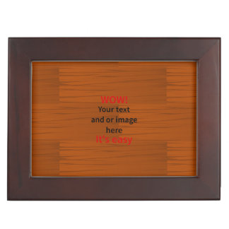 Wood Base Lyer Add Your own Text Memory Box