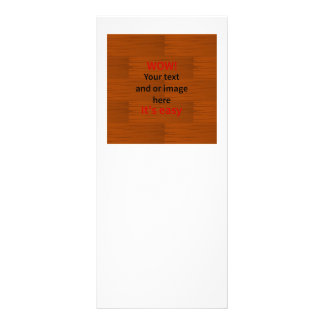 Wood Base Lyer Add Your own Text Rack Card