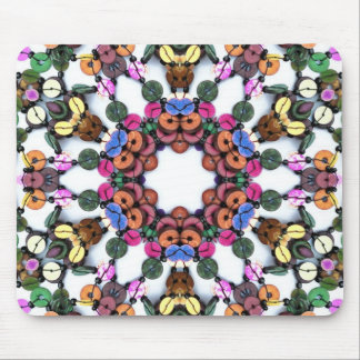 WOOD BEADS MOUSE PAD