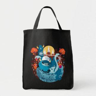 Wood Beast Tote Bag