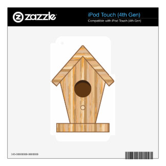 Wood Birdhouse iPod Touch 4G Skin