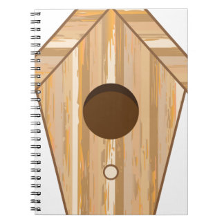 Wood Birdhouse Notebook