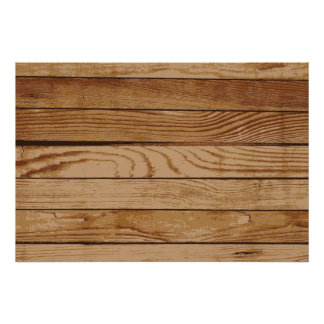 Wood boards texture poster