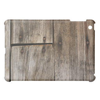 Wood Boards With Nails Texture iPad Case