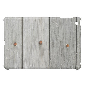 Wood Boards With Rusty Nails 2 iPad Case