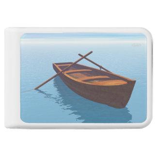 Wood boat - 3D render Power Bank
