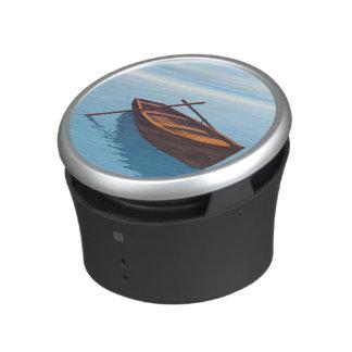 Wood boat - 3D render Speaker