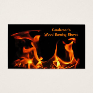 Wood Burning Stoves Business Card