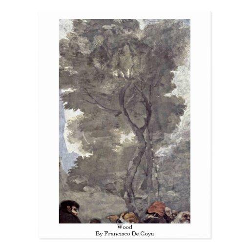 Wood By Francisco De Goya Postcard