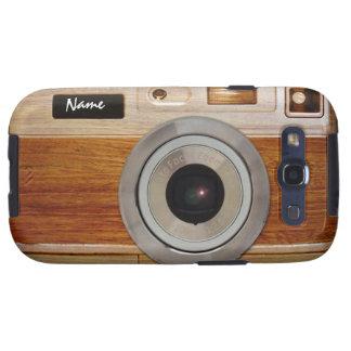 Wood Camera Case Samsung Galaxy SIII Cases