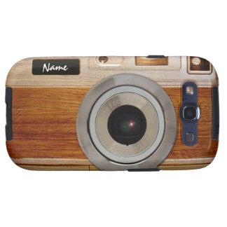 Wood Camera Case Galaxy SIII Cases