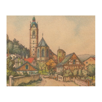 Wood Canvas - Laufenburg, Waldshut, Germany
