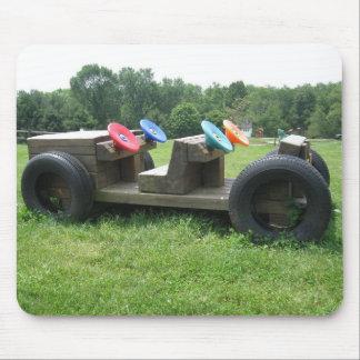 Wood Car Mousepad