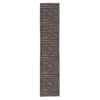 Wood Carving Abstract Short Table Runner