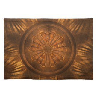 Wood Carving Cloth Placemat