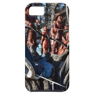 WOOD CARVING GEORGE TOWN TASMANIA AUSTRALIA iPhone SE/5/5s CASE