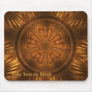 Wood Carving Mouse Pad