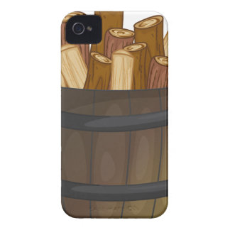 wood iPhone 4 cover