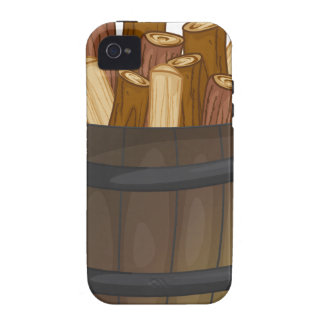 wood vibe iPhone 4 cases