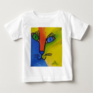 Wood Cat by Piliero Baby T-Shirt