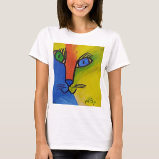 Wood Cat by Piliero T-Shirt
