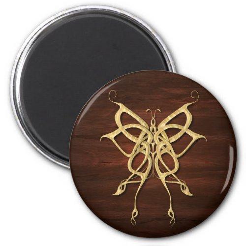 Wood Celtic Butterfly